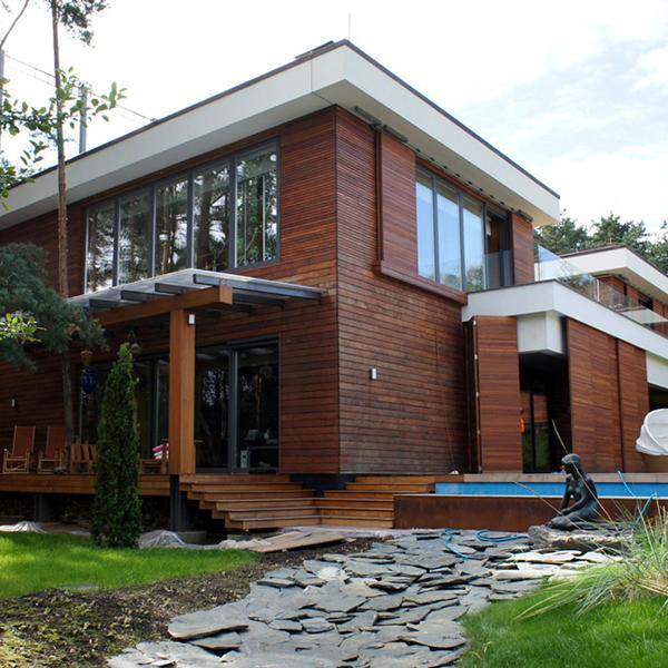 Строительство дома под финишную отделку